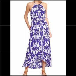 ATHLETA Ikat Bloom Ripple Maxi Dress